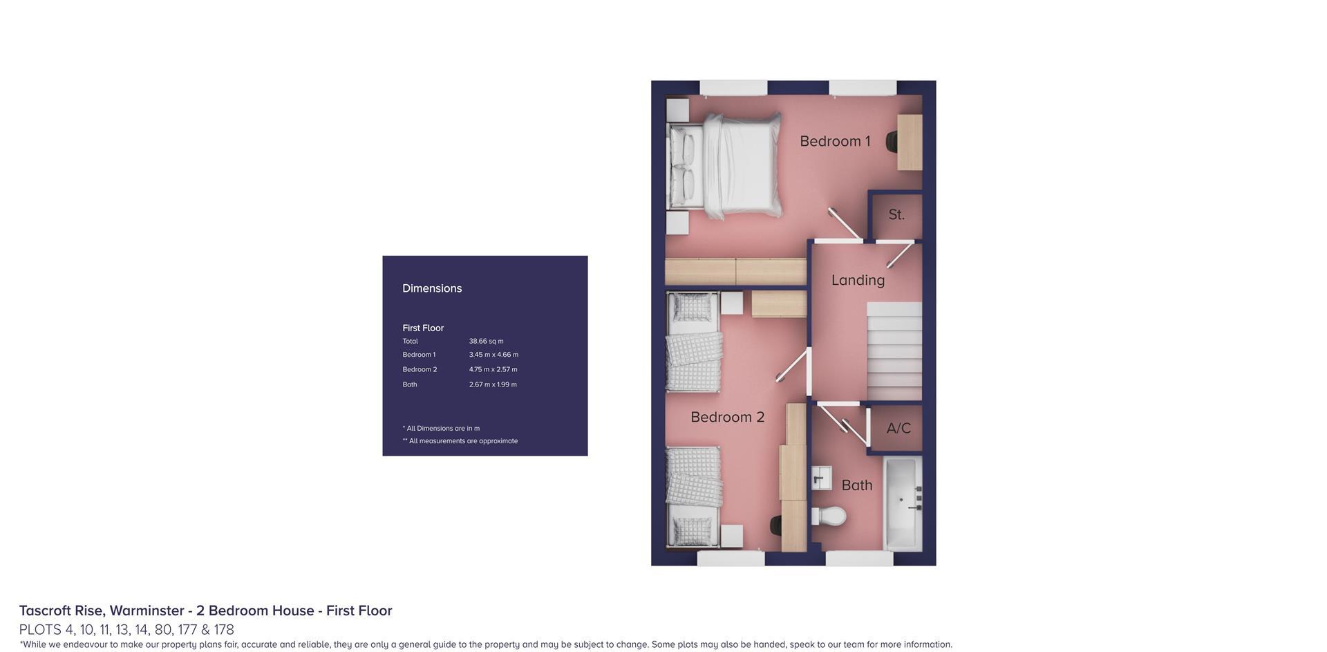 Tascroft Rise, Warminster_Plots 4, 10, 11, 13, 14,